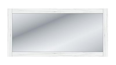 Oglinda cu rama din DRD laminat Sudbury Alb - 124x60 cm