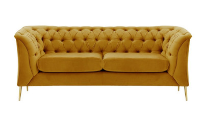 Canapea cu 2 locuri Nikol Galben