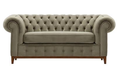 Canapea cu 2 locuri Tifany Maro deschis
