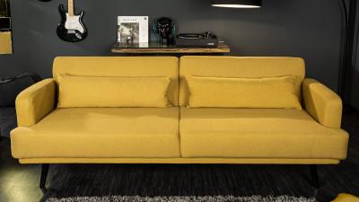 Canapea extensibila Invicta Interior Studio Galben