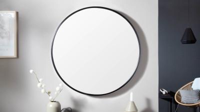 Oglinda de perete Invicta Interior Noemi Negru - Ø60 cm