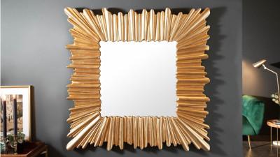 Oglinda de perete Invicta Interior Venice Auriu