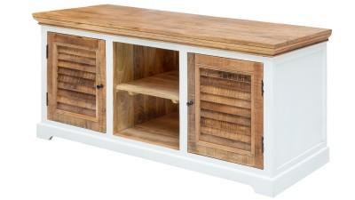 Comoda TV din lemn de mango Invicta Interior Long Island