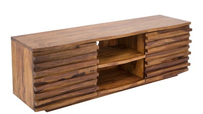 Comoda TV din lemn Sheesham Invicta Interior Relief