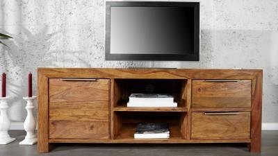 Comoda TV din lemn Sheesham Invicta Interior Lagos