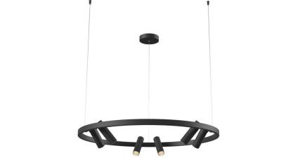 Lustra LED cu brate orientabile Maytoni Satellite Negru