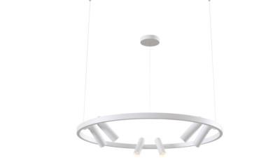 Lustra LED cu brate orientabile Maytoni Satellite Alb