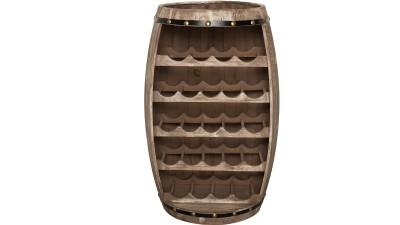 Suport din lemn de brad pentru 23 de sticle Invicta Interior Bodega - inaltime 80 cm