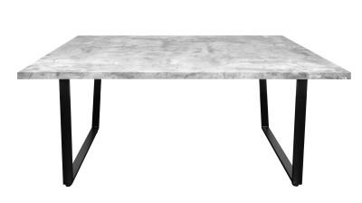 Masa dining Invicta Interior Beton-Optik - 160 cm