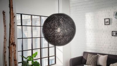 Pendul Invicta Interior Cocooning Negru - Ø45 cm