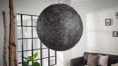 Pendul Invicta Interior Cocooning Negru - Ø60 cm