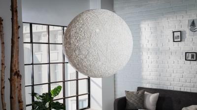 Pendul Invicta Interior Cocooning Alb - Ø60 cm