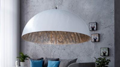 Lustra Invicta Interior Glow Alb Silver - Ø70 cm