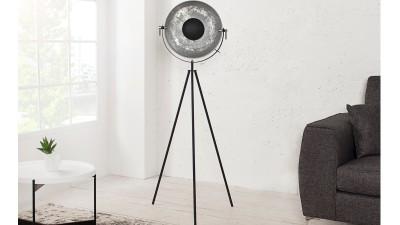 Lampadar Invicta Interior Studio Silver Gold - inaltime 140 cm