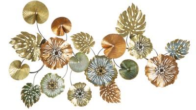 Decoratiune perete Mauro Ferretti Leaf - 117x74 cm