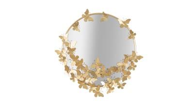 Oglinda Mauro Ferretti Round Butterfly - 74x75 cm