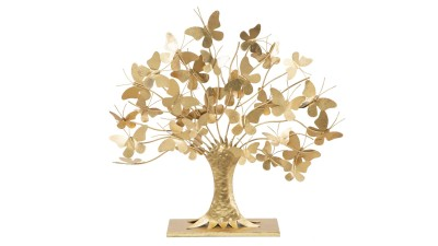 Decoratiune Mauro Ferretti Tree Butterfly - 63x60 cm