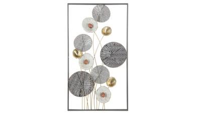 Decoratiune perete Mauro Ferretti Grid - 50x90,5 cm