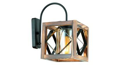 Aplica din lemn si metal Bivona
