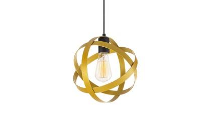 Pendul Campofranco Negru/Gold