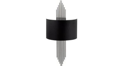 Aplica perete Venerina III Negru/Silver