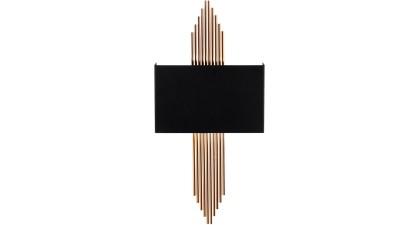 Aplica perete Venerina III Negru/Copper