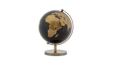 Decoratiune Mauro Ferretti Globe Bronze - 13x17 cm