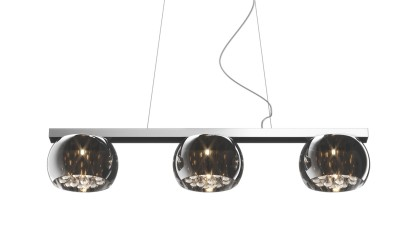 Lustra cu 3 brate Zuma Line Crystal II