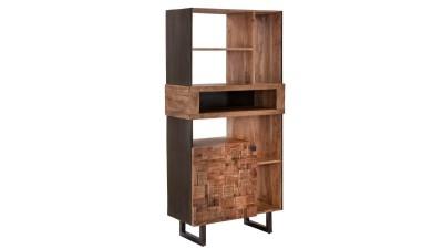 Biblioteca din lemn de salcam Mauro Ferretti
