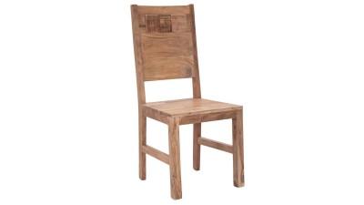 Set 2 scaune din lemn de salcam Mauro Ferretti
