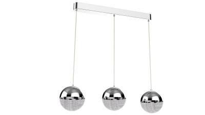 Lustra LED cu 3 brate Zuma Line Chelan - 64x15 cm
