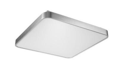 Plafoniera LED Zuma Line Sierra Argintiu - 40x40 cm
