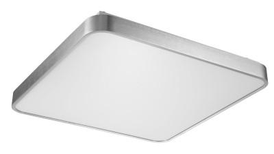Plafoniera LED Zuma Line Sierra Argintiu - 50x50 cm