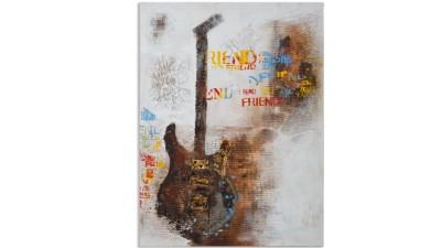 Tablou Mauro Ferretti Guitar Art - 120x90 cm