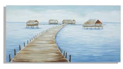 Tablou Mauro Ferretti Fiji - 140x70 cm