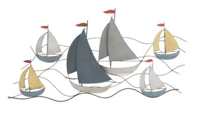 Decoratiune perete Mauro Ferretti Sea - 114,5x62,5 cm