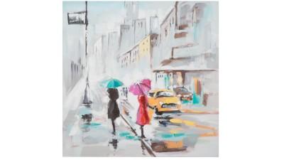 Tablou Mauro Ferretti Rain Paris B - 100x100 cm