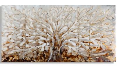 Tablou Mauro Ferretti Tree Alluminium D - 120x60 cm
