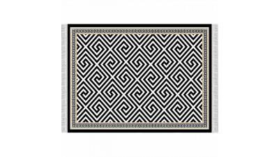Covor cu franjuri Motive - 80x150 cm