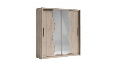 Dressing din DTD laminat si oglinda Birgamo Stejar II