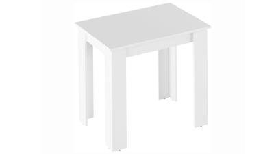 Masa dining din PAL melaminat Tarinio Alb - 86x60 cm