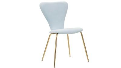 Set 2 scaune Mauro Ferretti Simple Light Blue
