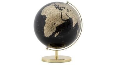 Decoratiune Mauro Ferretti Globe Gold - 34x25 cm